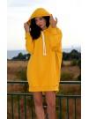 Суетшърт - рокля Карина в жълто