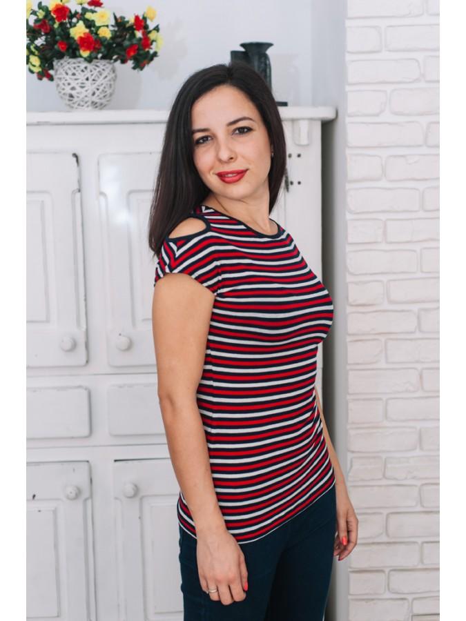 Блуза Надя - шарено райе